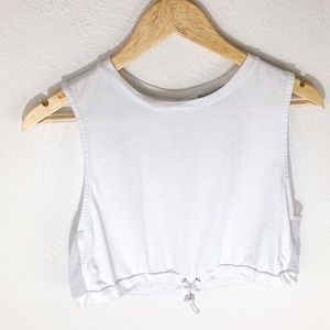 Forever 21 | white cropped women's tank top size M